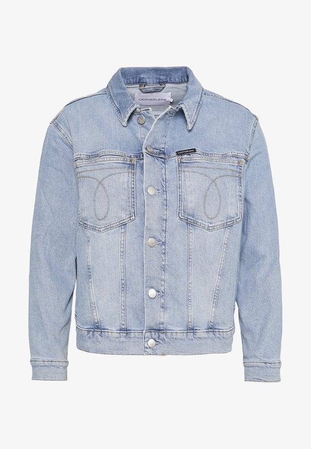 OMEGA TRUCKER - Denim jacket - light blue