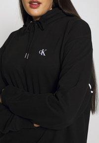 Calvin Klein Jeans Plus - PLUS LARGE HOODIE - Hoodie - black - 5