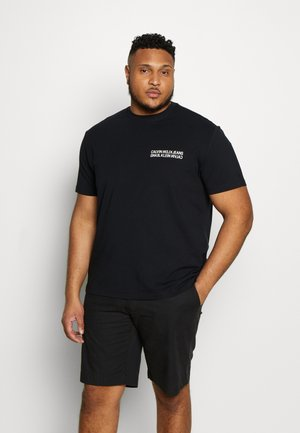 MONOGRAM SQUARE BACK TEE - T-Shirt print - black