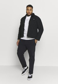 Calvin Klein Jeans Plus - CHEST LOGO TEE - Print T-shirt - bright white - 1