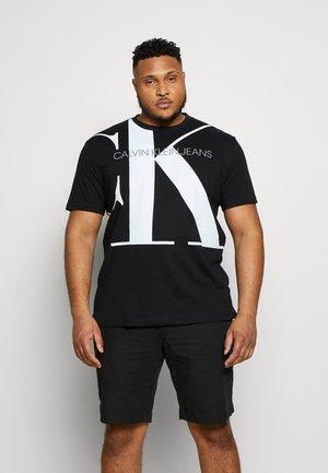 UPSCALE MONOGRAM LOGO TEE - Camiseta estampada - black