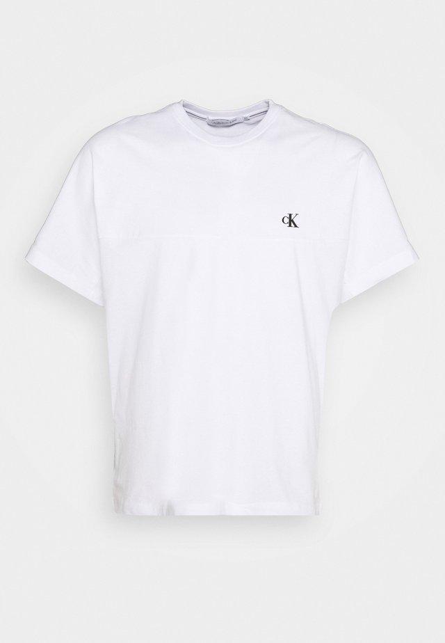 T-shirt - bas - bright white