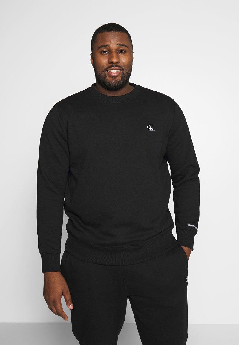 Calvin Klein Jeans Plus - PLUS ESSENTIAL - Sweatshirt - black