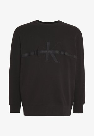 TAPING THROUGH - Sweater - black