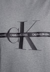Calvin Klein Jeans Plus - PLUS TAPING THROUGH - Sweatshirt - mid grey heather/poseidon - 3