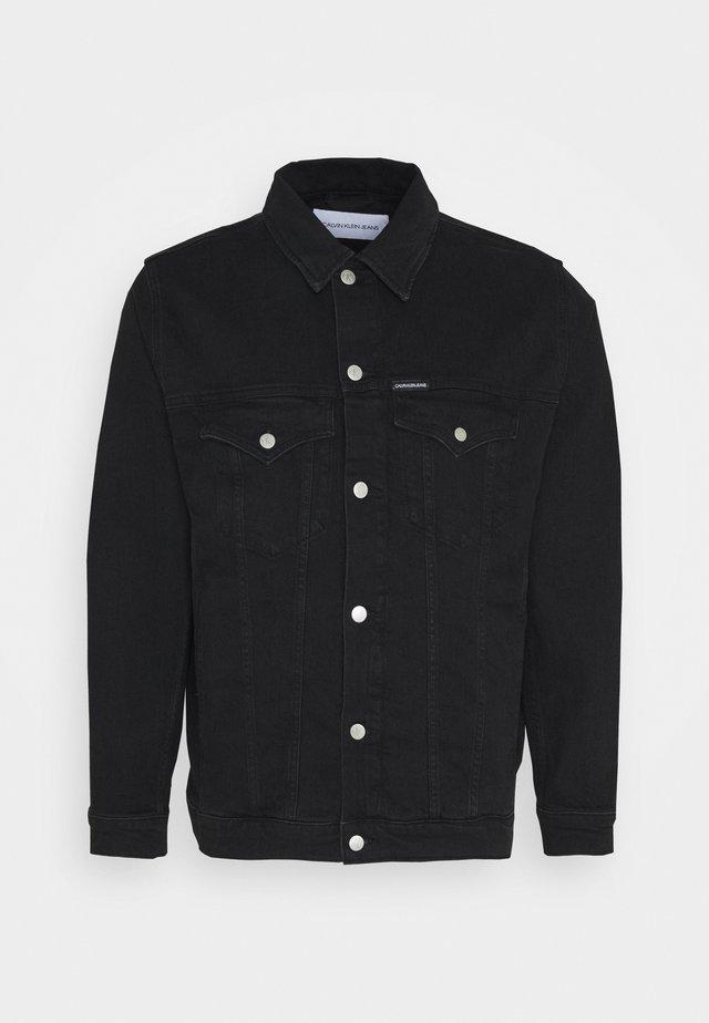 Džínová bunda - washed black