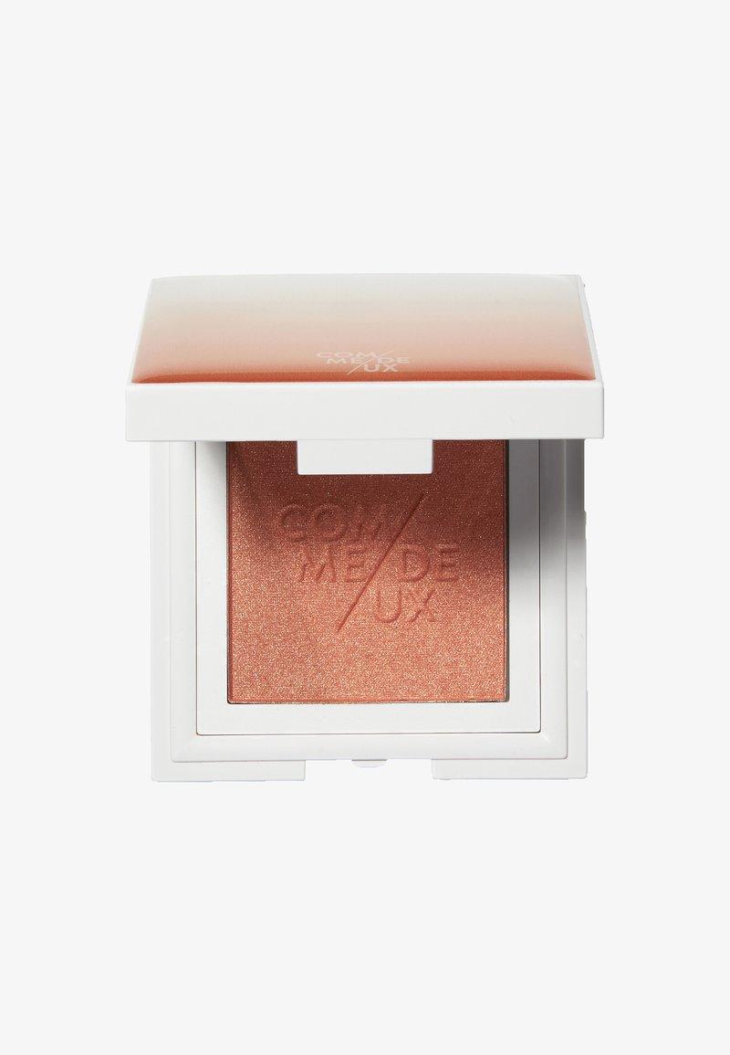 COMME DEUX - BLUSHUP - Rouge - peach