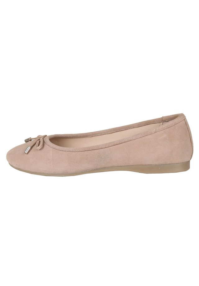 Ballet pumps - beige