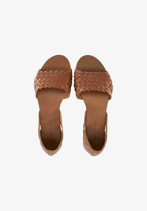 Sandales - braun-mittel