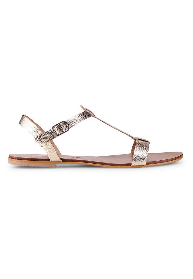 TREND - Sandals - gold