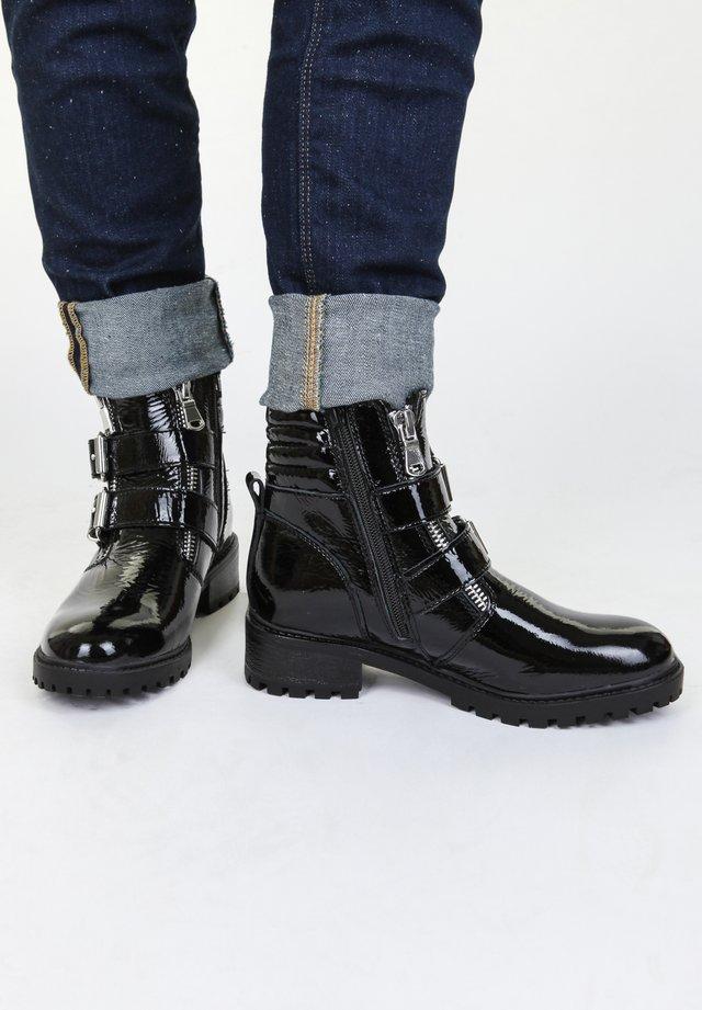Boots à talons - schwarz