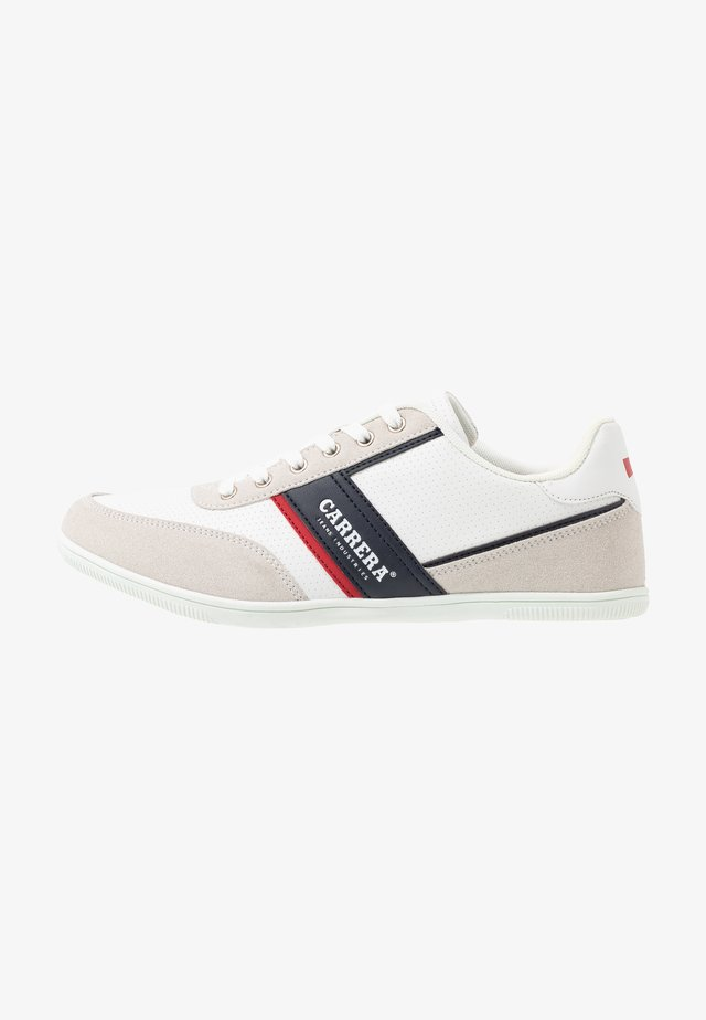 AMBURGO - Sneakers - white/navy