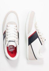 Carrera Footwear - AMBURGO - Trainers - white/navy - 1