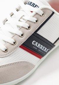 Carrera Footwear - AMBURGO - Trainers - white/navy - 5