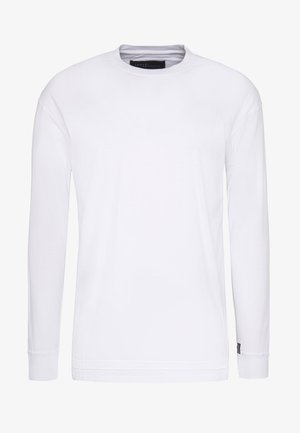 FLASH BASIC TEE - Camiseta estampada - white