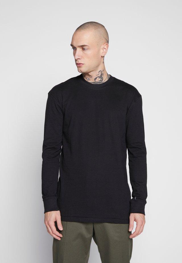 UNISEX FLASH LONG SLEEVE - Bluzka z długim rękawem - black