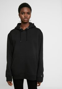 Common Kollectiv - UNISEX FLASH HOODIE - Sweatshirt - black - 1