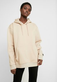 Common Kollectiv - UNISEX FLASH HOODIE - Sweat à capuche - stone - 1