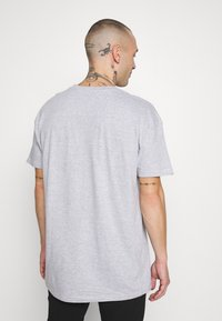 Common Kollectiv - UNISEX BOX FIT FLASH TEE - Print T-shirt - grey marl - 2