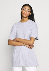 Common Kollectiv - UNISEX BOX FIT FLASH TEE - Print T-shirt - grey marl - 3