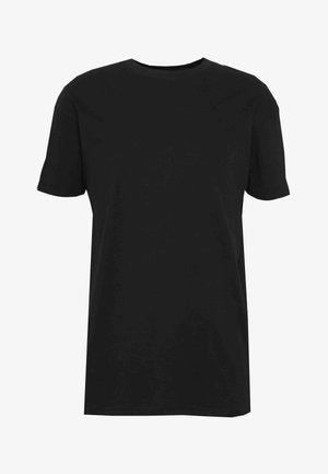 UNISEX BOX FIT FLASH TEE - T-shirt basic - black
