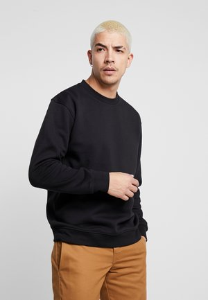 FLASH CREW NECK SWEATER - Sweatshirt - black