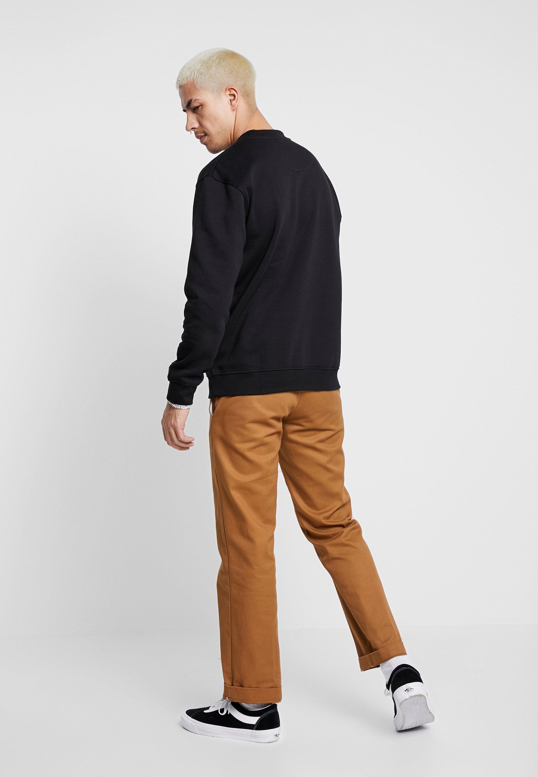 Common Kollectiv Flash Crew Neck Sweater - Sweatshirt Black