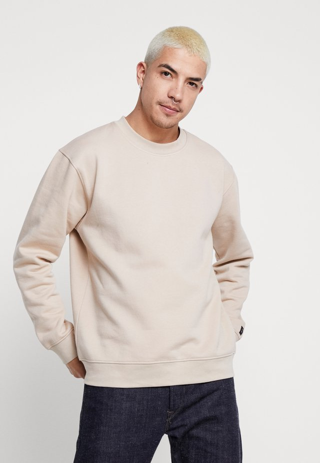 UNISEX FLASH CREW NECK SWEATER - Sudadera - stone
