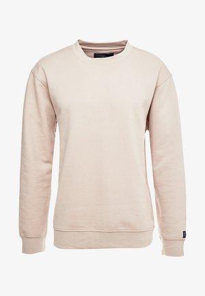 UNISEX FLASH CREW NECK SWEATER - Sweatshirt - stone