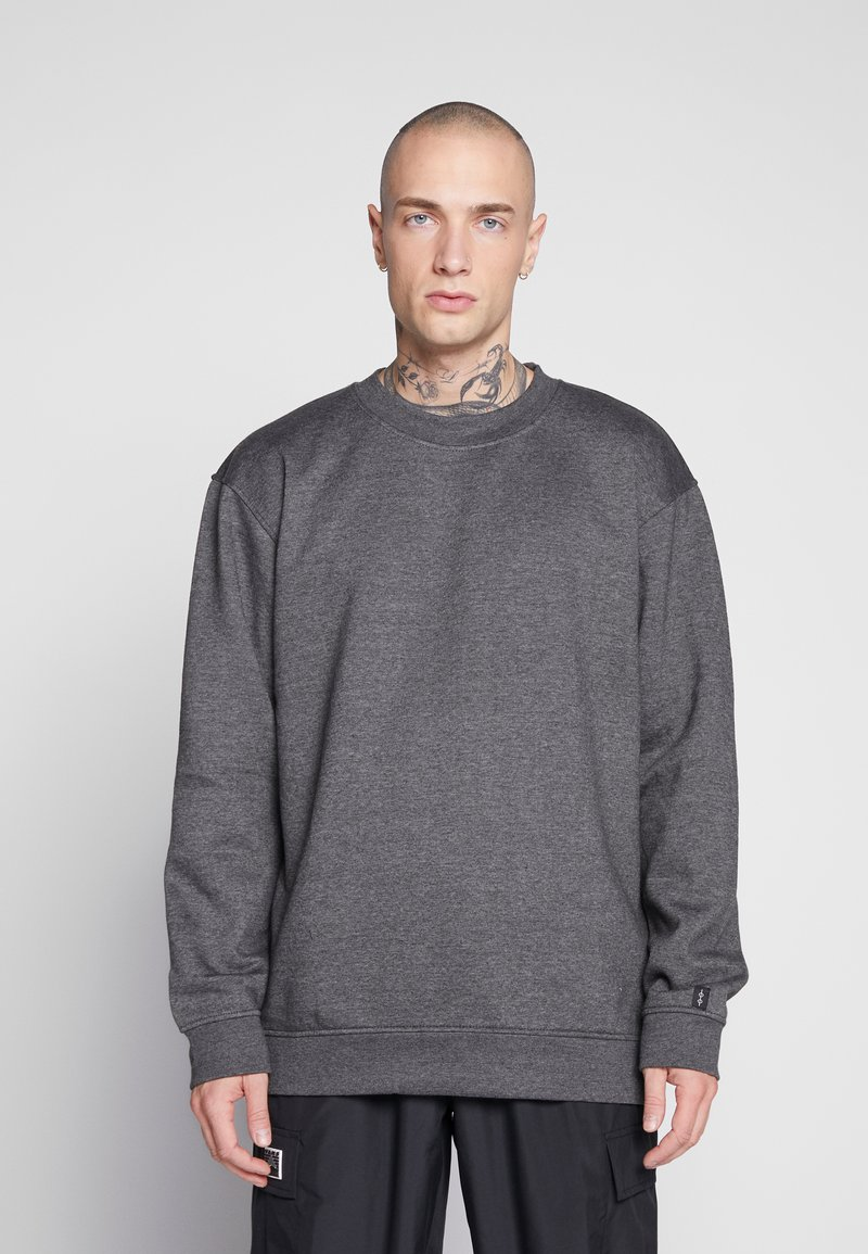 Common Kollectiv - UNISEX FLASH CREW NECK SWEATER - Mikina na zip - charcoal
