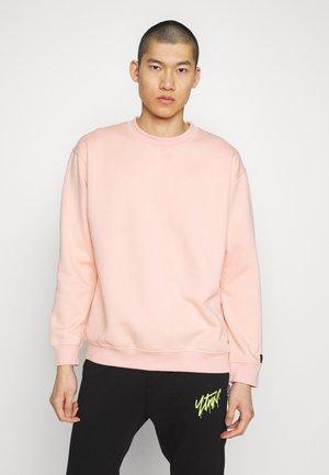 FLASH CREW NECK SWEATER - Mikina - dusty pink