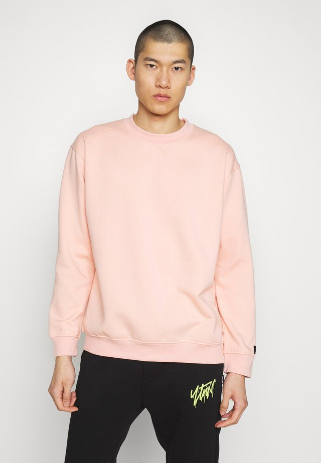 FLASH CREW NECK SWEATER - Sudadera - dusty pink