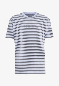 Common Kollectiv - UNISEX STRIPED LOGO PRINTED WHIP TEE - T-shirt imprimé - blue - 4