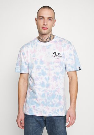UNISEX TIE DYE BACK PRINT SYDNEY TEE - T-shirt imprimé - multi-coloured