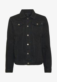 Common Kollectiv - UNISEX DISTRESS JACKET - Denim jacket - black - 4