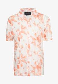 Common Kollectiv - UNISEX TIE DYE PRINTED DREAM SHORT SLEEVE - Shirt - white - 4