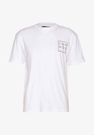 UNISEX ZONE  - T-shirt con stampa - white