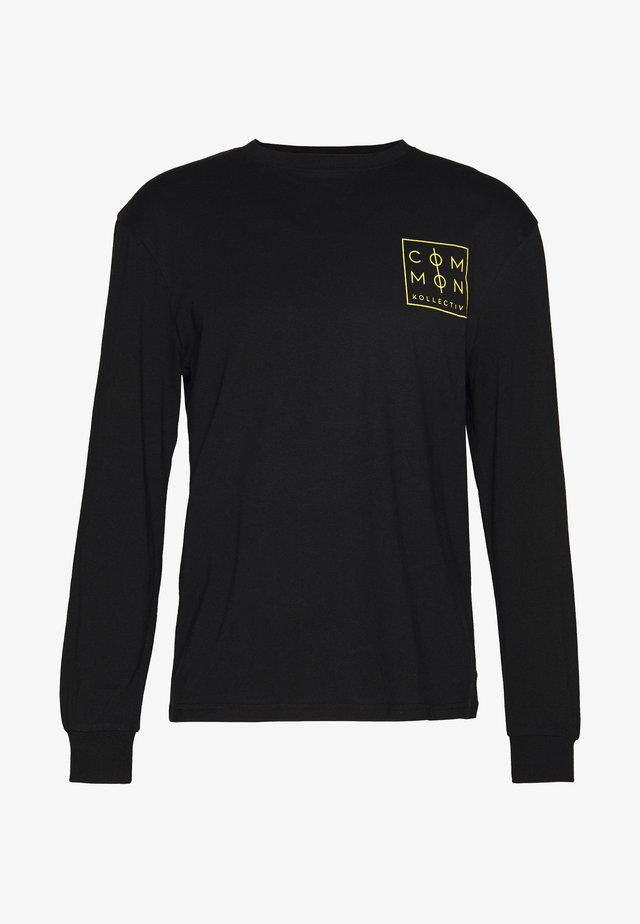 UNISEX ZONE LONGSLEEVE  - Long sleeved top - black