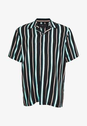 PLUS STRIPED BOWL SHORT SLEEVED - Shirt - black