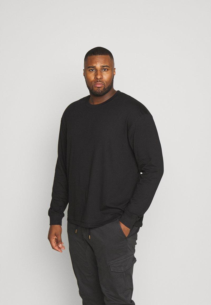 Common Kollectiv - FLASH BASIC TEE - Long sleeved top - black