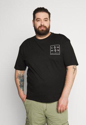 PLUS ZONE - T-shirt con stampa - black