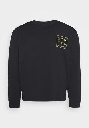 ZONE LONGSLEEVE - Long sleeved top - black