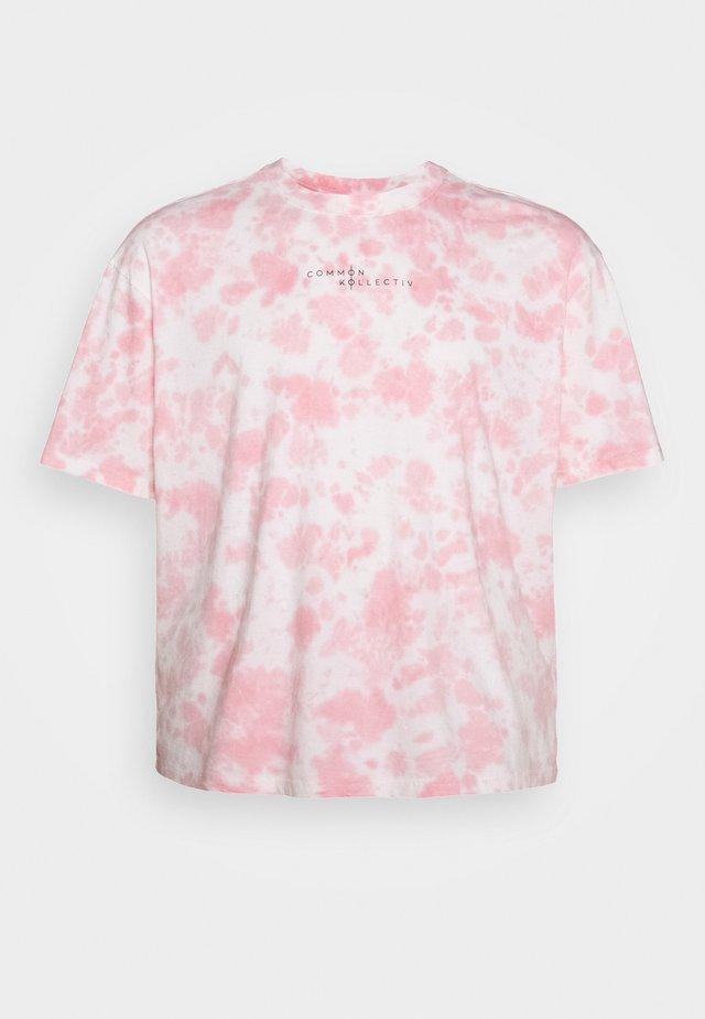 RAGON TIE DYE - T-shirt imprimé - pink