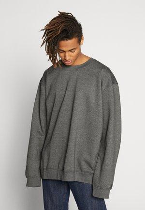 PLUS FLASH CREW NECK  - Sweatshirt - charcoal