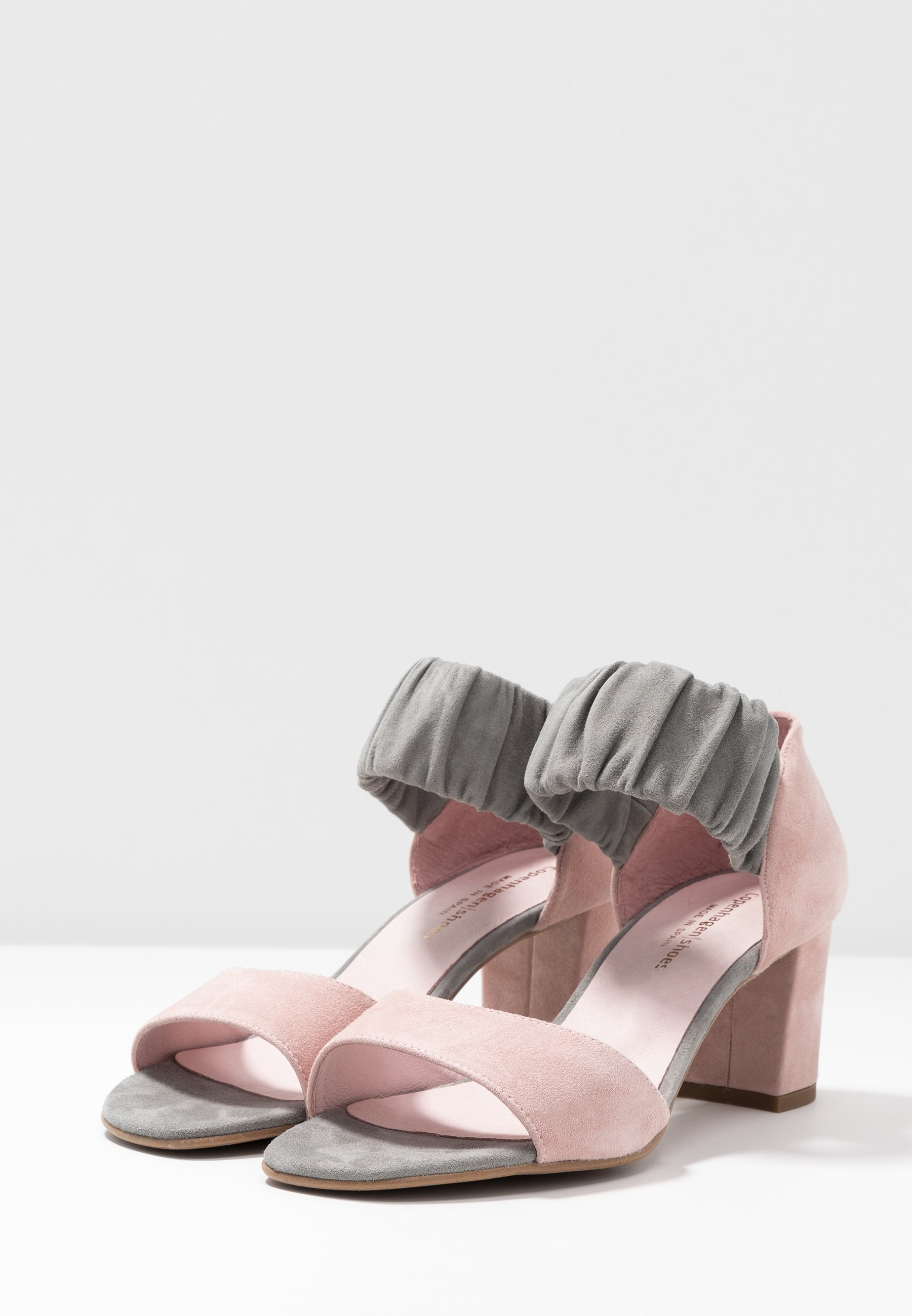 Copenhagen Shoes Me And - Sandals Grey/rosa