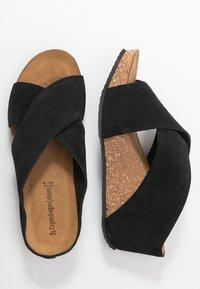 Copenhagen Shoes - FRANCES  - Muiltjes met hak - black - 3