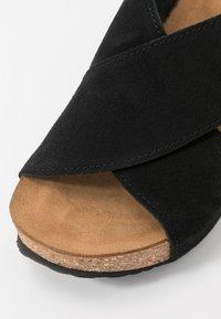 Copenhagen Shoes - FRANCES  - Muiltjes met hak - black - 2