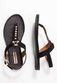 Copenhagen Shoes - JENNA - T-bar sandals - black - 3