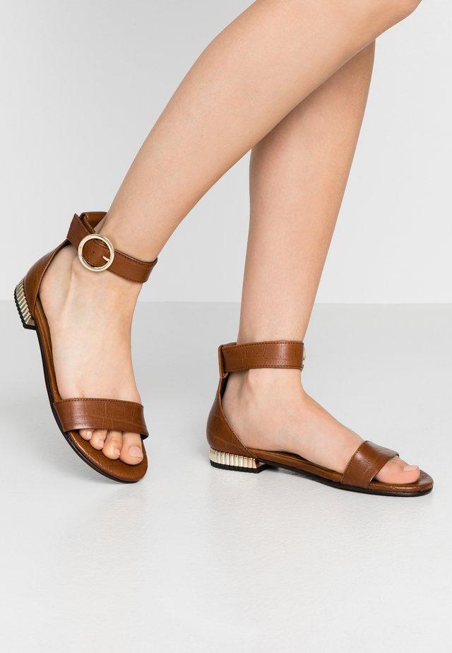 DAYSI - Sandals - cognac