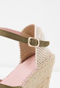 Copenhagen Shoes - ANGIE - High heeled sandals - green - 2